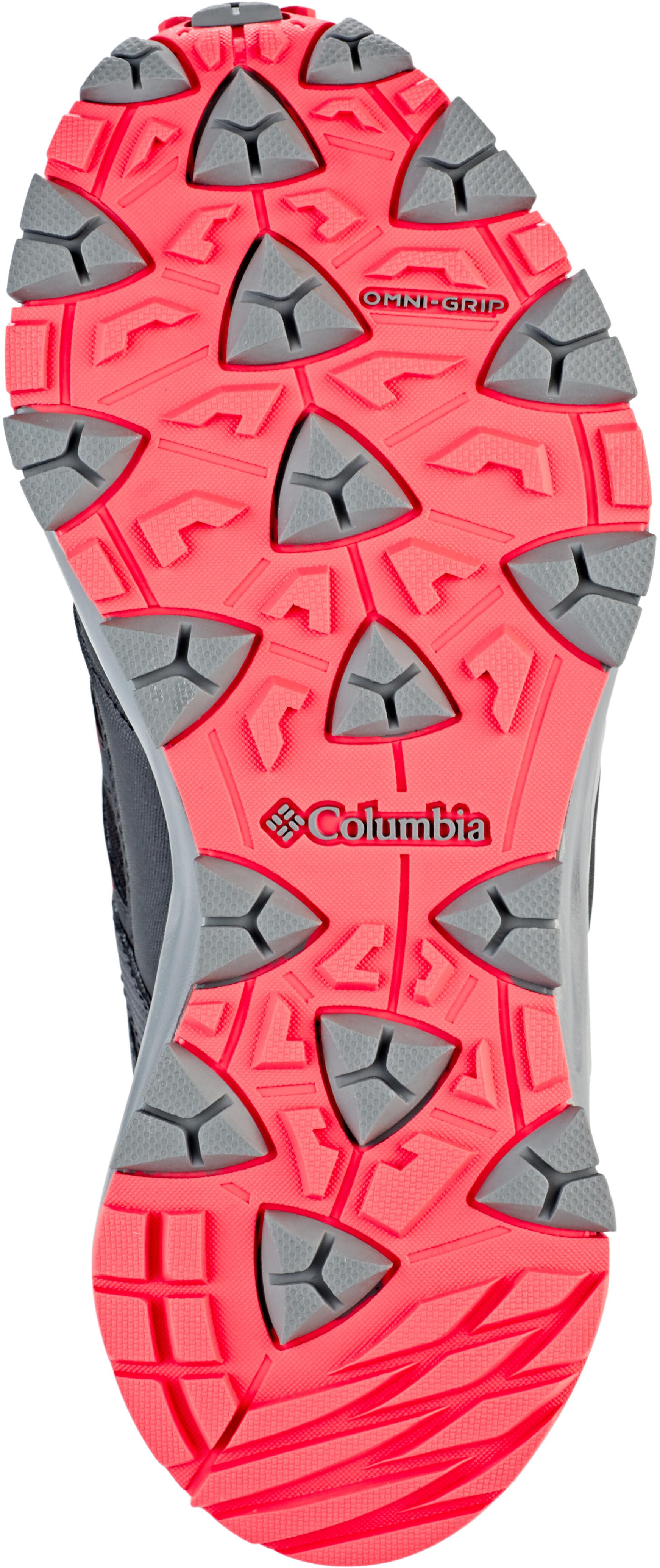 b20e32d8cece6 Columbia Wayfinder Outdry - Calzado Mujer - rojo negro
